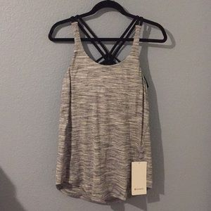 NWT lululemon moment to movement tank